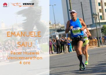 Emanuele Saiu, Venicemarathon Pacer 4:00