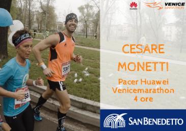 "Cesare Monetti Venicemarathon Pacer 4h00'00"""